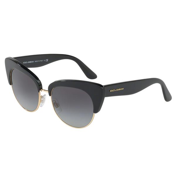 563da7bb45 Dolce   Gabbana 4277 501 8G - Μαύρος Χρυσός Σκελετός - Οπτικά Γαλάνης